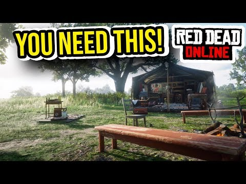 BOUNTY HUNTER VS COLLECTOR - NEW CAMP THEMES IN RED DEAD ONLINE