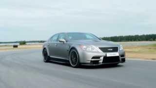 TMG TS 650 - Lexus LS-based Performance Sedan