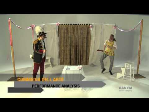 an analysis of commedia del arte performed today