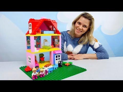 ЛЕГО домик для самых маленьких - Развивающее видео для детей с конструктором LEGO DUPLO Play House