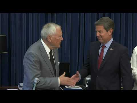 Kemp says he won Georgia governor race