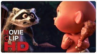 Video Jack Jack Vs Raccoon - Fight Scene | INCREDIBLES 2 (2018) Movie CLIP HD MP3, 3GP, MP4, WEBM, AVI, FLV September 2018
