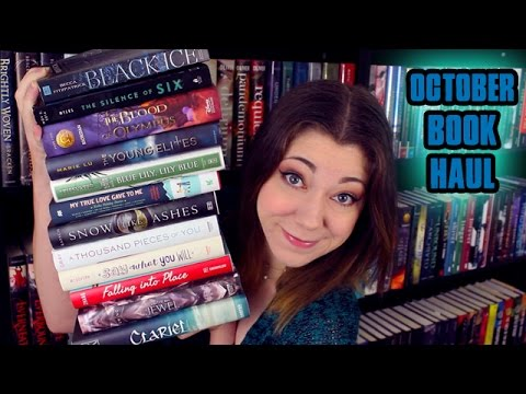 book - TA DA! IT'S MY OCTOBER BOOK HAUL! In which I actually haul some actual books and actually say