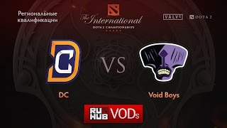 DC vs Voidboy, game 2
