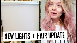 Video TESTING OUT NEW LIGHTING + HAIR UPDATE | sophdoesvlogs MP3, 3GP, MP4, WEBM, AVI, FLV April 2018