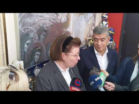 Video - Μενδώνη από τη Λάρισα: Οδικός χάρτης για έργα πολιτισμού στη Θεσσαλία (εικόνες)