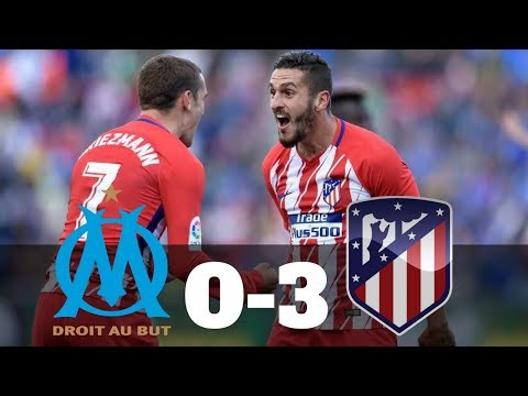 Marseille Vs Atletico Madrid 0-3 | All Goals And Highlights | Resume | 16/05/2018 HD