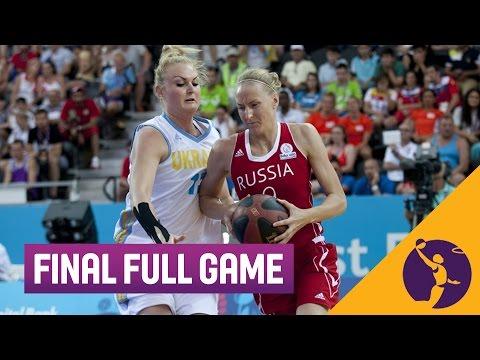 Финал 3х3 Европейских игр в Баку: Украина - Россия