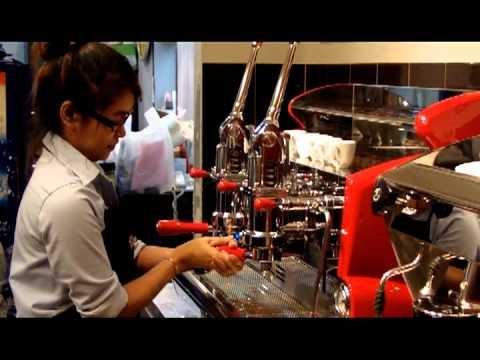 P&F Espresso by Izzo lever