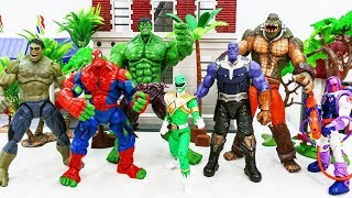 Video Marvel Super Hero Spider Hulk, Hulk Transform vs Thanos VIllains Army~! GO GO GO!!! #Toysplaytime MP3, 3GP, MP4, WEBM, AVI, FLV Desember 2018