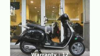 4. 2007 Vespa Granturismo 200  Features Transmission superbike Engine Dealers Specification