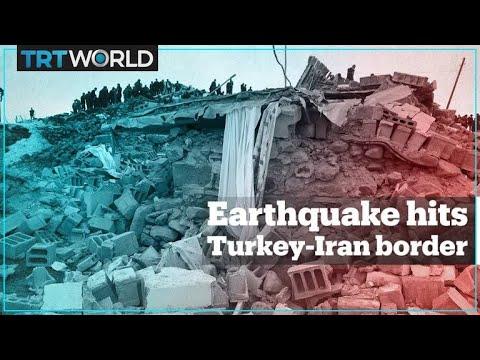 Video - Τουρκία: Τουλάχιστον 9 νεκροί από τα 5,7 Ρίχτερ - Καταστροφές και στο έδαφος του Ιράν (video)