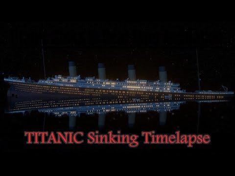 Titanic Real Time Sinking Timelapse