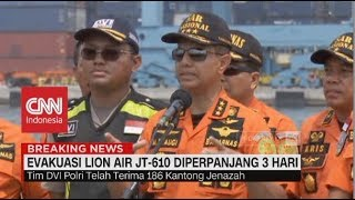 Video Evakuasi Lion Air JT-610 Diperpanjang Tiga Hari MP3, 3GP, MP4, WEBM, AVI, FLV Januari 2019