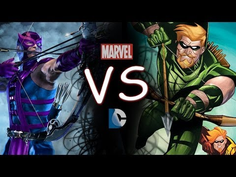 Hawkeye Vs Green Arrow Comic Clash Episode 2