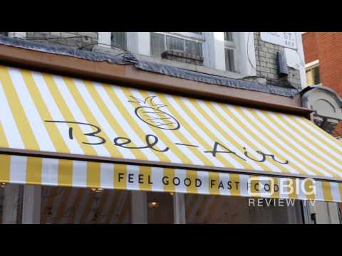 Bel-Air Fast Food Restaurant in Shoreditch London serving Fresh and Delicious Food