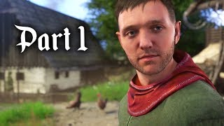 Kingdom Come Deliverance Gameplay Walkthrough Part 1 - HENRY (Full Game)
