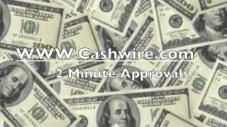 Cashwire Payday Loans YouTube video