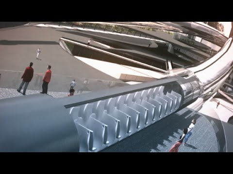 Сюжет CNN о проекте Hyperloop - Центр транспортных стратегий