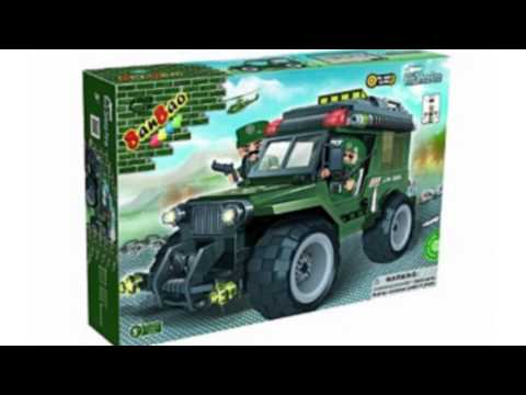 Video Video review of the Military Jeep Toy Building Set