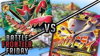 Pokémon Cards - Mega Scizor EX vs Mega Mewtwo EX! | Battle Frontier Friday #12! by The Pokémon Evolutionaries