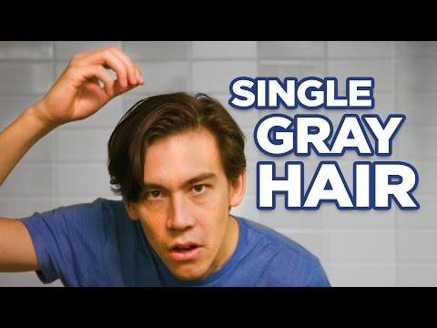 Stop Plucking out Those Single Gray Hairs and Dye Them Already