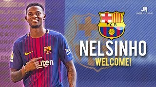 DOWNLOAD ONEFOOTBALL APP FOR FREE NOW: http://bit.do/JavierNathaniel_JulyNelson Semedo a.k.a. Nelsinho amazing dribbling skills, tackles, assists & goals 2016-2017, Welcome to FC Barcelona!----------------------------------------­--------------------------STAY UPDATED!• Instagram: https://www.instagram.com/javiernathaniel• Facebook: https://www.facebook.com/JavierNathanielHD• Twitter: https://twitter.com/JavierNathaniel• Source of clips: https://goo.gl/drAQmJ• Music Channel: https://goo.gl/EHLC9d• My Comp Channel: https://goo.gl/0AN5AL• My 2nd Channel: https://goo.gl/N2KQ1S----------------------------------------­--------------------------♫ Music 1: https://youtu.be/ct0mC2pxST4♫ Music 2: https://youtu.be/uDeLvdZ3Mzg----------------------------------------­--------------------------Clips supplied by:ScoutnationHD: https://goo.gl/U7RgE8