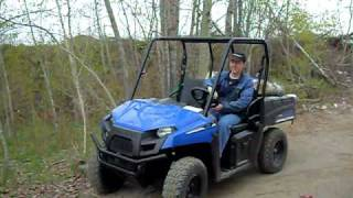 5. 2010 Polaris Ranger EV (at work)