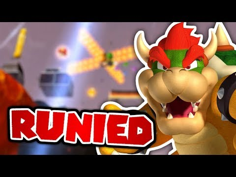 RUINING Bowser's Gravity Gauntlet! - Super Mario Galaxy 2 Mods (видео)