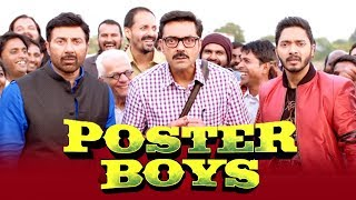 Poster Boys का  Official Trailer हुआ रिलीज़   Sunny Deol  Bobby Deol  Shreyas Talpade☞  Check All बॉलीवुड Latest Update on our चैनल & Subscribe  - http://bit.ly/MoviezAddaHindi☞  Follow us on ट्विटर  https://goo.gl/T4QoIH☞  Like us on फेसबुक https://goo.gl/XWT9mE