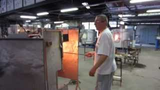 Biot France  city pictures gallery : Glass production in Biot, France