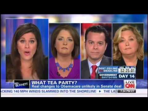 Republican - 10/14/13 - On Monday night's Out Front with Erin Burnett, a prominent Republican and Democratic commentator went after a Tea Party leader following her asser...