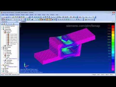 Femap Tips and Tricks: Bolt Preloads with Solid Elements