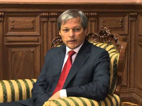 Nicolae Timofti had a meeting with the European Commissioner for Agriculture and Rural Development Dacian Ciolos
