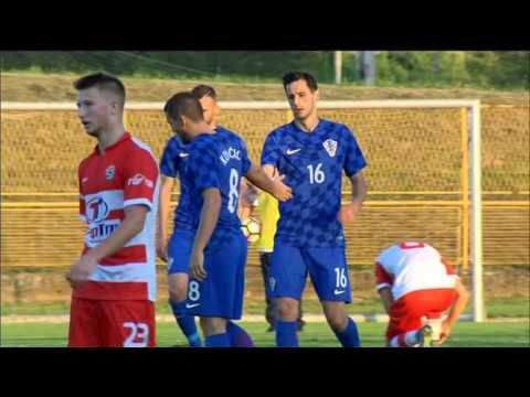 Reportaža s prijateljske utakmice Segesta - Hrvatska (1:8) u Sisku