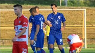 Prijateljska pobjeda Vatrenih u Sisku, u sklopu proslave 110. rođendana najstarijeg hrvatskog nogometnog kluba, Segeste.