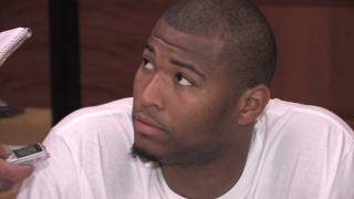 DeMarcus Cousins Draft Combine Interview - Part 1