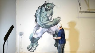 Painting a full size Hulk in my garage part one.  I start off by sketching with a charcoal pencil before I go in with acrylic paints.Thank you for watching!You can follow me on facebook, instagram and society6 (links below)WEBSITE:    http://www.jonathanstephenharris.comFACEBOOK: https://www.facebook.com/Jonathan.Stephen.HarrisFACEBOOK: https://www.facebook.com/JSHStudioGalleryINSTAGRAM: http://instagram.com/jonathanstephenharrisSOCIETY6:    http://society6.com/JSHartsSAATCHIART:   http://www.saatchiart.com/jshPATREON:         https://www.patreon.com/JSH