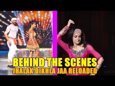 Behind the scenes of Jhalak Dikhla Jaa Reloaded