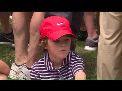 Young fans welcome at PGA Championship at Bellerive