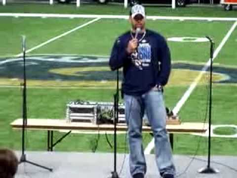 Albert Pujols testimony at Rams Christian Family Day