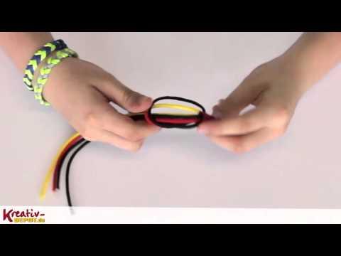 [DIY] Kreativ-Idee: Paracord Fan-Armband Deutschland knüpfen