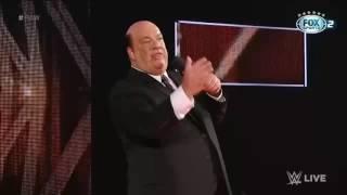 Brock lesnar ataca o novo campeão universal Goldberg - Raw, 06 de março de 2017.