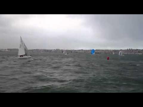 RCMSantander- Toma de baliza regata J80