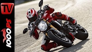 10. First-Test | Ducati Monster 1200 S 2014 | Action, Wheelies, Onboard, Details