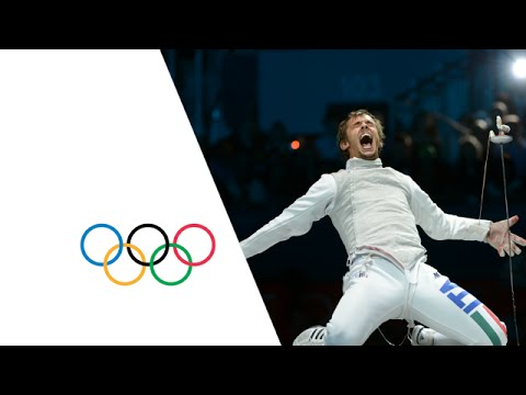 fencing - Highlights as Italy win the Men's Fencing Team Foil Gold against Japan during the London 2012 Olympic Games. Fencing was included for the first time at the 1...