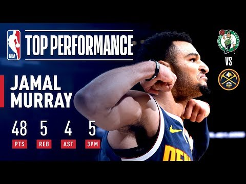 Video: Jamal Murray Goes Off For 48 Points! NEW Career High!   November 5, 2018