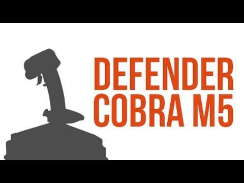 Recenze joysticku Defender Cobra M5!