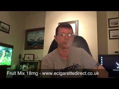 Fruit Mix, Virginia & Menthol from Ecigarette Direct