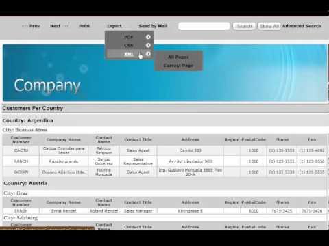 MySQL Report Maker
